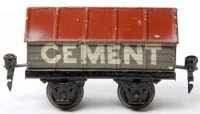 Maerklin Railway-Freight Wagons Cement car #1919/0 with...
