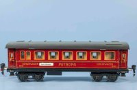Maerklin Railway-Passenger Cars Sleeping car #1843/0 G...