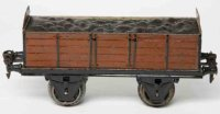 Maerklin Railway-Freight Wagons Gondola car #1920/1 with...