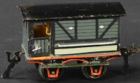 Maerklin Railway-Freight Wagons Brake car # 2853/0 with...