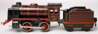 Maerklin Railway-Locomotives Clockwork steam locomotive...