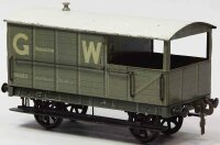 Carette Railway-Freight Wagons English brake car with...