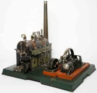 Maerklin Steam Toys-Horizontal Steam Engines Steam engine...