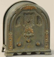 Kenton Hardware Co Cast-Iron-Mechanical Banks Crosley...