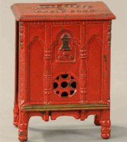 Kenton Hardware Co Cast-Iron-Mechanical Banks Templetone...