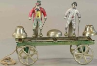 Watrous Mfg. Co. Cast-Iron Figures Mr. Flip and little...