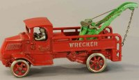 Arcade Cast-Iron trucks Mack wrecker of cast iron body in...