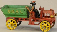 Hubley Cast-Iron trucks Large coal dump truck, cast iron,...