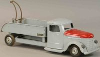 Structo Tin-Trucks Fold out wrecker truck in light gray...