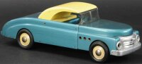 Buddy L Tin-Cars Deluxe convertible car, electric...