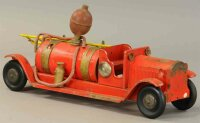 Structo Tin-Fire-Truck Pressed steel fire truck chemical...