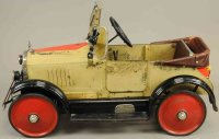 American National Co. Tin-pedal cars Pedal car made of...