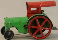 Structo Tin-Tugs/Rollers Large tractor with canopy in...