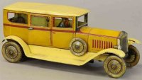 Tippco Tin-Oldtimer Limousine with driver, light and...