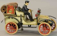 Carette Tin-Oldtimer Large open toruing car, cleverly...