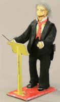 Martin Fernand Tin-Figures Le Chef dorchestre, musical...