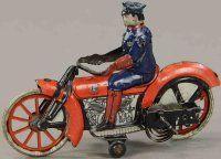 Guenthermann Tin-Motorcycles Motorcycle with clockwork,...