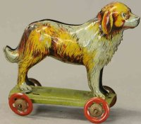 Meier Tin-Penny Toy Bernard made of lithographed tin,...