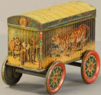 Crawford William & Sons Keksdosen Cage wagon biscuit tin,...