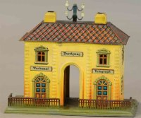 Maerklin Railway-Stations Railway station #2000 in yellow...