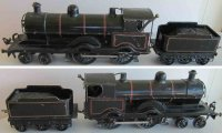 Bassett-Lowke Railway-Locomotives Clockwork powered steam...