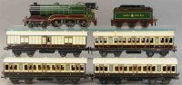 Bassett-Lowke Railway-Trains Passenger set made from Bing...