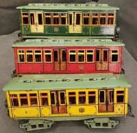 Maerklin Tin-Trams e trailer car #1096, Metro and subway...