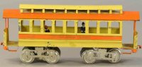 Lionel Tin-Trams Trolley #3.1 with eight wheels and repro...