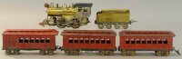 Elektoy Railway-Trains Passenger set, locomotive, tender,...