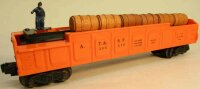 Lionel Railway-Freight Wagons Operating barrel car...