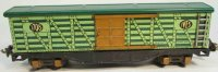 Ives Railway-Freight Wagons Stock car #1708 with eight...