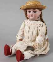 Simon & Halbig Dolls Porcelain head doll No. 1349, Jutta,...