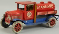 Distler Tin-Trucks Standard oil truck #598, attractive...