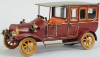 Bing Tin-Oldtimer Limousine with clockwork, made of...