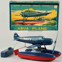 Linemar Tine Ariplanes Aqua plane made of lithographed...