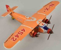 Nomura Toys Tine Ariplanes Ford tri-motor airplane with...