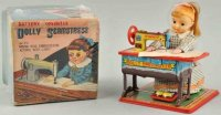 Nomura Toys Tin-Figures Dolly Seamstress dressmaker made...