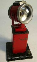 Marx Railway-Lamps/Lanterns Searchlight #410 on pedestal,...