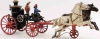 Ives Cast-Iron-Carriages Phoenix fire pumper, cast iron,...