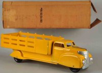 Marx Tin-Trucks Coca-Cola truck #990J made of yellow...