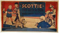 Marx Tin-Animals Scottie toy dog with wind-up made of...