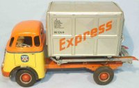 Arnold Tin-Trucks DAF truck with flywheel drive and...