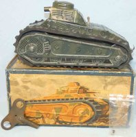 Tippco Military-Vehicles Tank WH-204 with clockwork and...