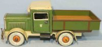Tippco Tin-Trucks Büssing truck with short flatbed and...