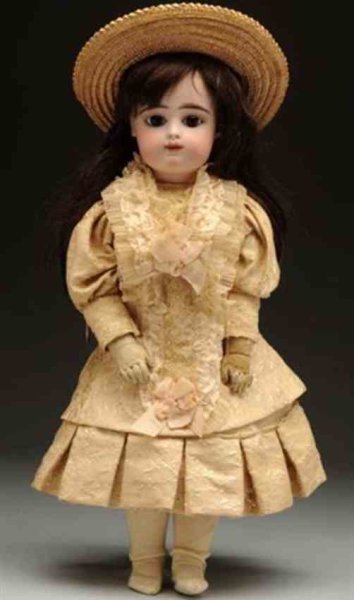 Gaultier Dolls Bebe doll. The typical F.G. child on a gesland body with com