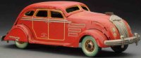 Kosuge Toy Co. Ltd. Tin-Cars Airflow auto wind-up toy...