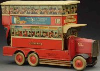 Huntley & Palmers Keksdosen Double decker bus biscuit tin...
