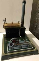 Doll Steam Toys-Horizontal Steam Engines Lying steam...