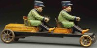 Bing Tin-Figures Scarce irish mail toy, made of...