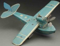 Guenthermann Tine Ariplanes Scarce flying boat wind-up...
